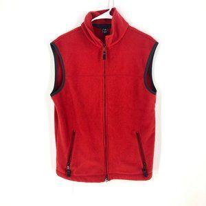 Gap | Red Fleece Vest Sz M